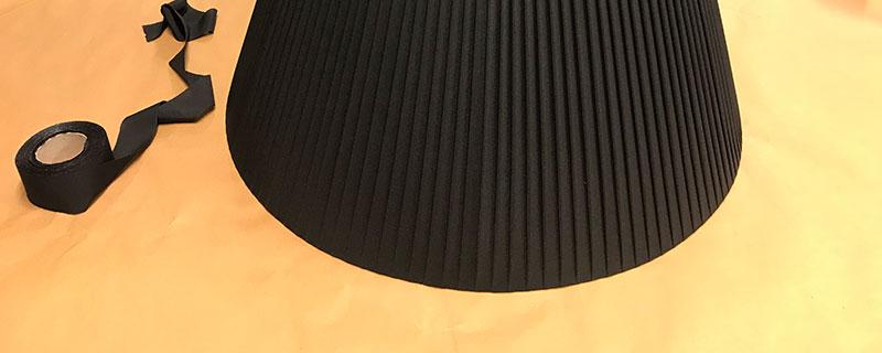 Pantalla encintada en color negro