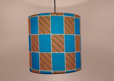 Lámparas con diseño tribal de Artesanía Antonio 1
