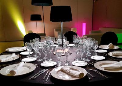 Diversas lámparas para salas de banquetes de Artesanía Antonio